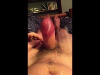 kostenlos Cumming # 2 meine pulsierenden Schwanz Hände