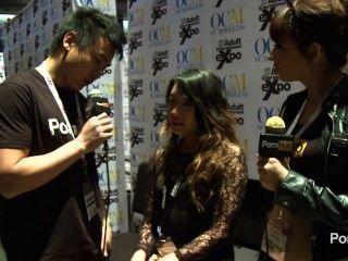 pornhubtv Meiko Askara Interview bei 2014 AVN Awards