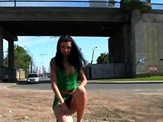 Russische Mädchen öffentliche Kompilation 2
