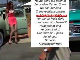 Annina Ucatis - in den müllpresswagen rein, du scheiss transvestitenschwein