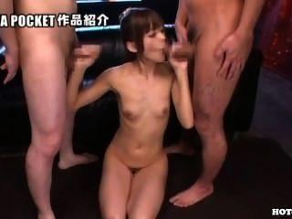 Japanische Mädchen angegriffen jav Mutter in kitchen.avi