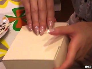 japanische Mädchen gefickt sexy reife Frau im Bett room.avi