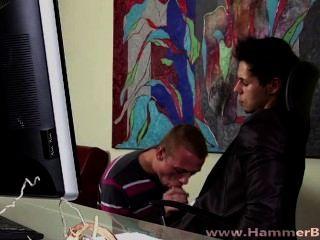Ennio Guardi und Robin Berg von hammerboys tv