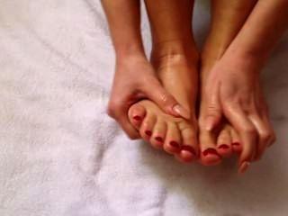 serena Morgen Fußmassage