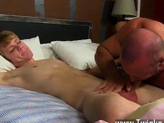 Homosexuell Film es von Check-out als anthony evans seine Spunk schießt laden über
