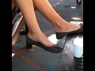 offen jugendlich Füße und Beine baumeln Shoeplay Wohnungen