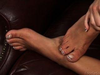 Fußfetisch hd - Lichelle marie Fuß necken