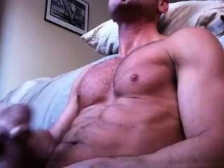 heiße Muskel wichsen und cum