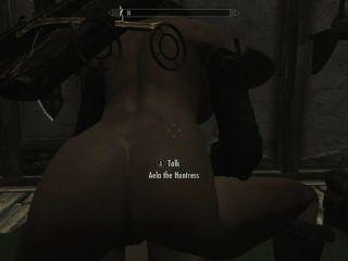Skyrim - Sex mit Aela (nackt)