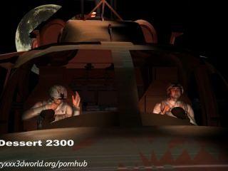 3D-Animation: Alien-Invasion. Folge 1