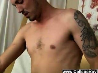 Homosexuell Jocks nach dem vorläufigen prüfen i seine ängstliche Spundloch prepped