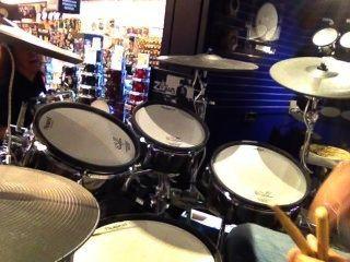 schlagen eine Trommel (set)