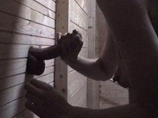 glory hole weiblichen Orgasmus Folter