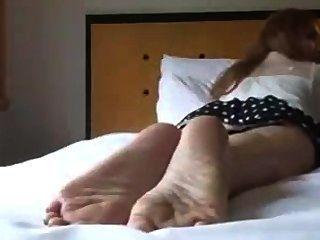 china jugendlich Füße