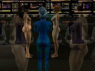 simtrek Teil # 1 sims 2 Sci-Fi-