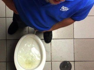 Toilette spycam