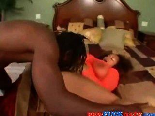 große schwarze Kerl Fett schwarze Küken ficken