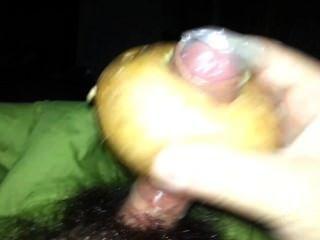 paja hecha con una patata - Kartoffel Milch