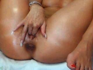 Webcam Mädchen Fingern ihre Muschi
