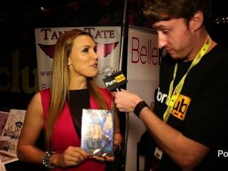 pornhubtv Tanya Tate Interview bei Exxxotica 2014 Atlantic City