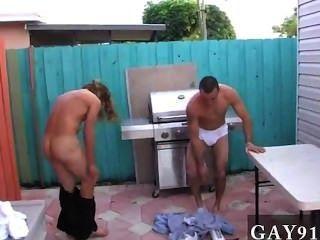 heißen Homosexuell Szene, so dass diese Burschen bekam kreativ. ein Duo des älteren frat