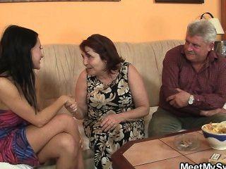alten Eltern ficken wie er verlässt