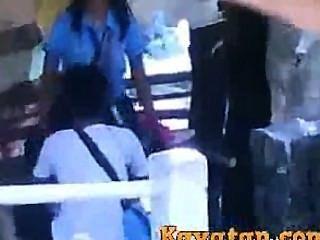 pinay Studenten Sex auf der Straße