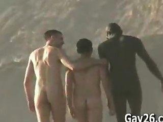nackt men..nude Strand