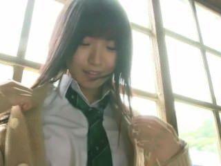 Japanische Schulmädchen iv