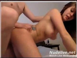 Webcam Wichsen - super heiß und sexy College-Mädchen