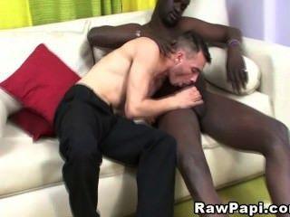 latino Stud bekommt seinen Schwanz gefickt