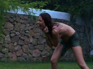 irish Küken Wassersport im Garten