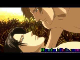 gut aussehend Hentai Homosexuell macht Sex