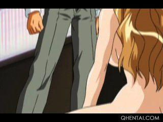 Hentai Sex Sklave bekommt brutal genagelt ihr jugendlich Pussy