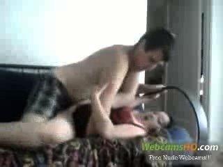 super hot vollbusige Paar Fick auf der Couch via Webcam leben