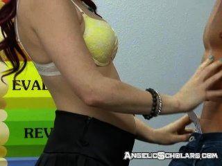 Sex während der Lehrer ist aus