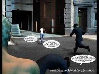 3D-Comic: Shifter. Episoden 1-4