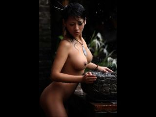 chinesische Schönheit judy über osakagirls