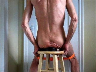 anal Fisting und riesigen Butt Plug Anus Dehnung ficken