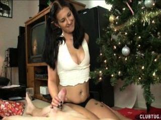 Weihnachten Wichsen