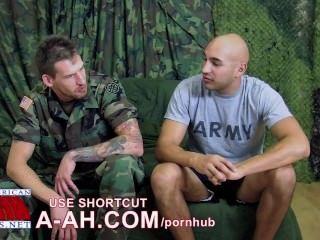 Infanterie-Spezialist Marco und Spezialist Wolf