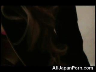 Japanische Cutie in pov gefickt!