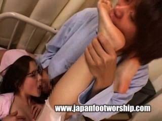 japanisch fußanbetung 4