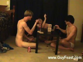 Homosexuell Sex Spur und William bekommen gemeinsam mit ihren frischen Freund Austin für