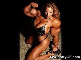 hot Muskelfreundinnen!