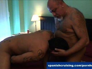 geile Latinos bläst Schwänze