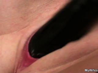 unzüchtig Mutter-in-law ihre rasierte Möse liebäugelt nimmt dann seinen Schwanz