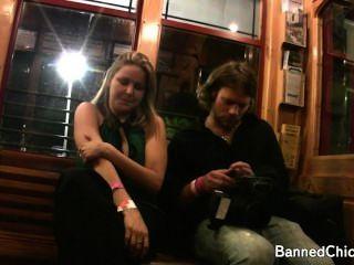 wilde Party Mädchen, die Spaß in diesem erstklassig Amateur-Video mit freiliegenden