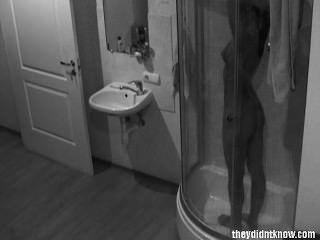 versteckte Kamera Dusche heiß jugendlich