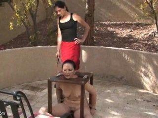 clairresslaves-Bondage und Fuß Fetisch